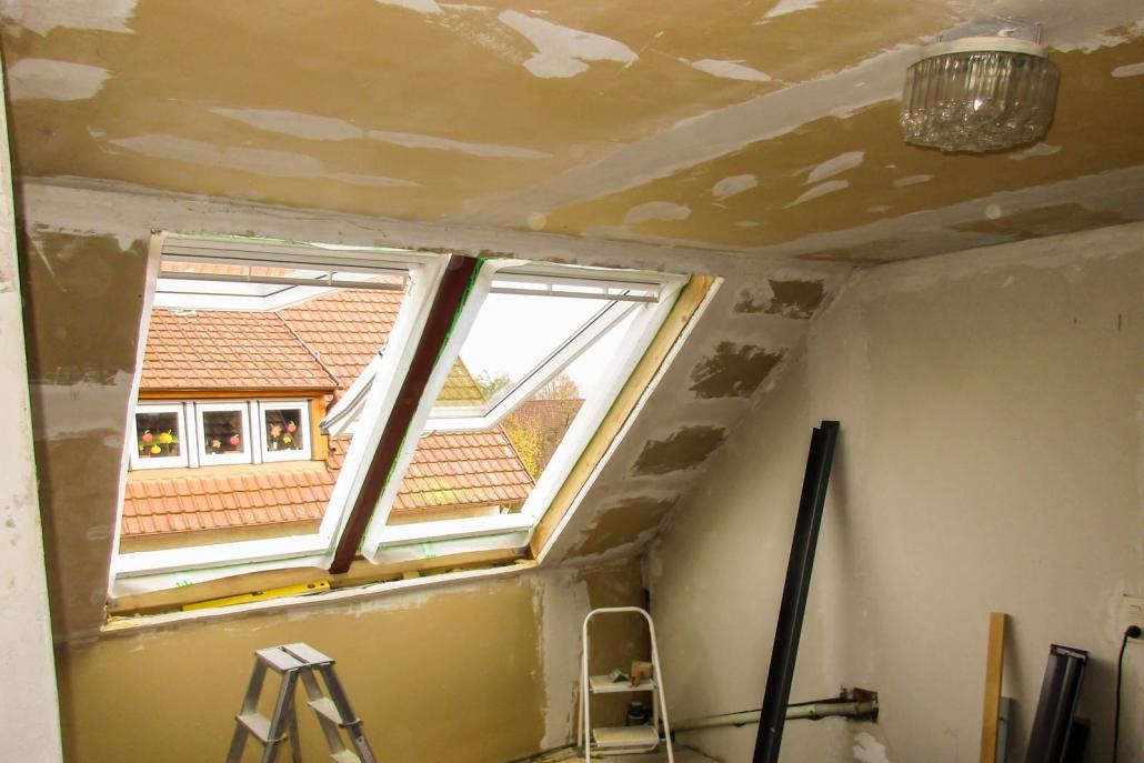 Dachfenster Ersteinbau in Bühlingen