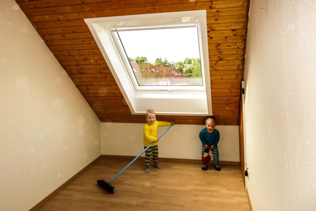 Dachfenster-Ersteinbau in Zimmern