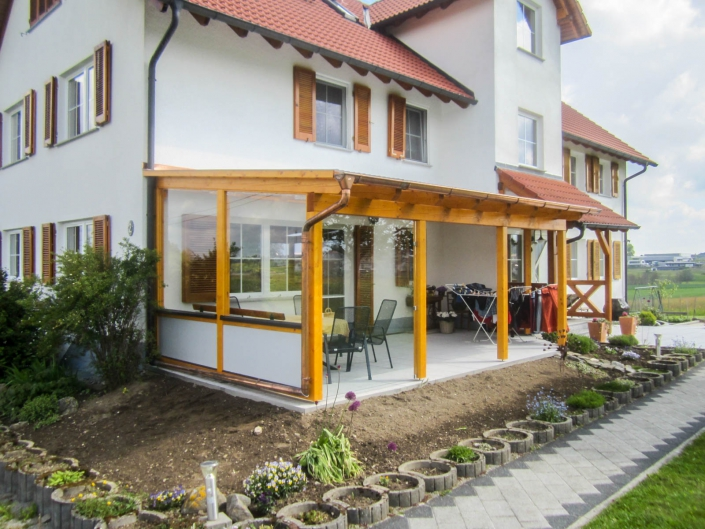Terrassen und Überdachungen
