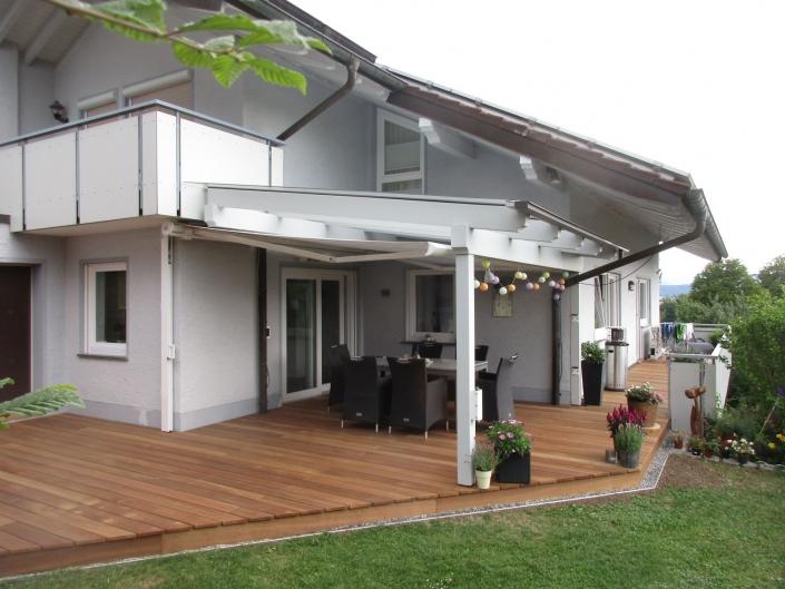 Terrasse Neugestaltung in Bühlingen