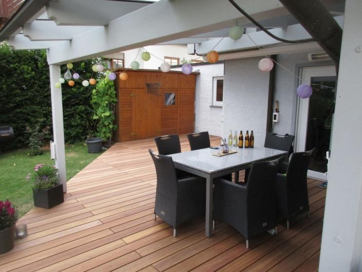Terrasse Neugestaltung - in Bühlingen